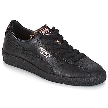 Skor Dam Sneakers Puma WN TE-KU ARTICA.BLACK-BLAC Svart