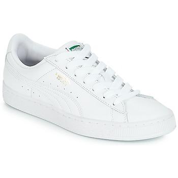 Skor Sneakers Puma BASKET CLASSIC LFS.WHT Vit