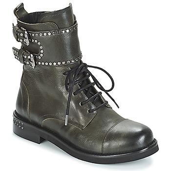 Skor Dam Boots Mimmu MICHEE Kaki