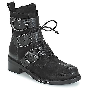 Skor Dam Boots Mimmu MOEZ Svart