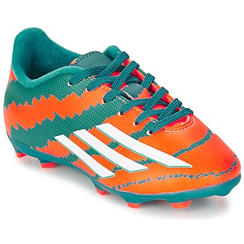 Skor Pojk Fotbollsskor adidas Performance MESSI 10.3 FG J Turkos / Orange