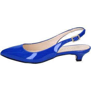 Skor Dam Sandaler Olga Rubini sandali blu vernice BY278 Blu