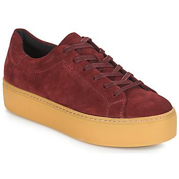 Skor Dam Sneakers Vagabond JESSIE Bordeaux