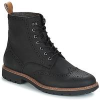 Skor Herr Boots Clarks BATCOMBE LORD Svart