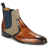Skor Herr Boots Melvin & Hamilton LEWIS 26 Brun / Marin