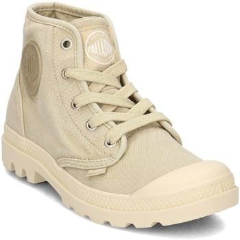 Skor Dam Höga sneakers Palladium Manufacture Pampa HI Gula