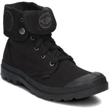 Skor Herr Höga sneakers Palladium Manufacture Baggy Svarta