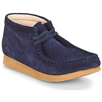 Skor Barn Boots Clarks Wallabee Bt Navy / Mocka