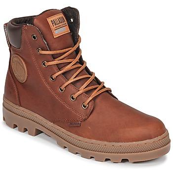Skor Herr Boots Palladium PALLABOSSE SC WP Brun