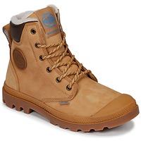 Skor Boots Palladium PAMPA SPORT CUFF WPS Gul / Brun
