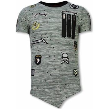 textil Herr T-shirts Local Fanatic Patches US Army For Men LFG Grå, Grön