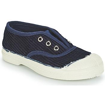 Skor Barn Sneakers Bensimon TENNIS ELLY CORDUROY Marin