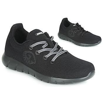 Skor Dam Sneakers Giesswein MERINO RUNNERS Svart