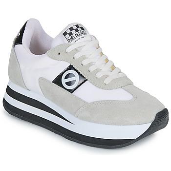 Skor Dam Sneakers No Name FLEX JOGGER Vit