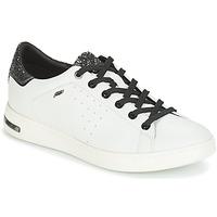 Skor Dam Sneakers Geox JAYSEN Vit / Silver