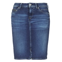 textil Dam Kjolar Pepe jeans TAYLOR Blå