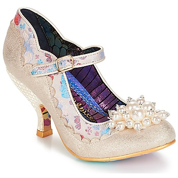 Skor Dam Pumps Irregular Choice Shoesbury Krämfärgad