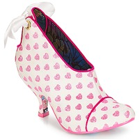 Skor Dam Boots Irregular Choice Love is all around Vit / Rosa