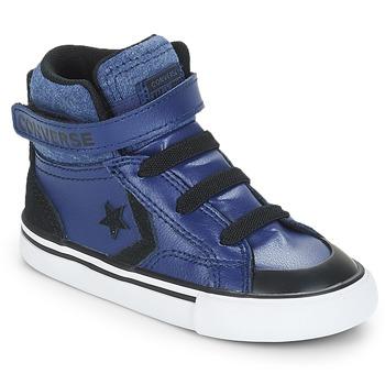 Skor Pojkar Höga sneakers Converse PRO BLAZE STRAP HI Blå