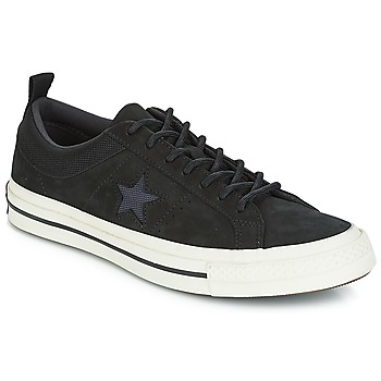 Skor Sneakers Converse ONE STAR LEATHER OX Svart