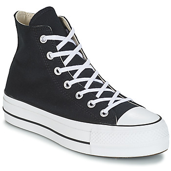 Skor Dam Höga sneakers Converse CHUCK TAYLOR ALL STAR LIFT CANVAS HI Svart