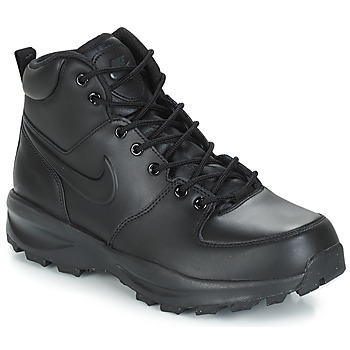 Skor Herr Boots Nike MANOA LEATHER BOOT Svart