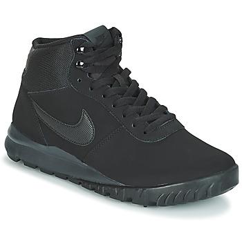 Skor Herr Boots Nike HOODLAND SUEDE Svart