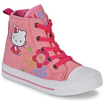 Skor Flick Höga sneakers Hello Kitty LONS Rosa