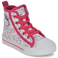 Skor Flick Höga sneakers Hello Kitty LYNDA Vit