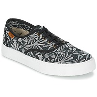 Skor Dam Sneakers Victoria INGLES ESTAP HOJAS TROPICAL Svart