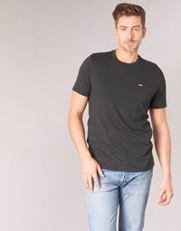 textil Herr T-shirts Levi's SS ORIGINAL HM TEE Svart