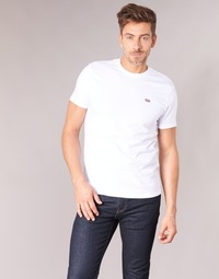 textil Herr T-shirts Levi's SS ORIGINAL HM TEE Vit