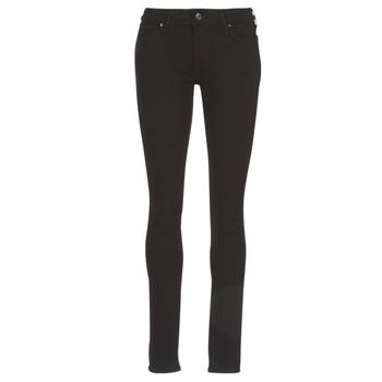 textil Dam Skinny Jeans Levi's 711 SKINNY Svart / Sheep