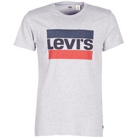 textil Herr T-shirts Levi's SPORTSWEAR LOGO GRAPHIC Grå