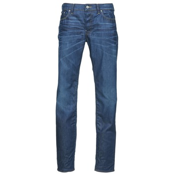 textil Herr Raka byxor G-Star Raw 3301 LOW TAPERED Blå