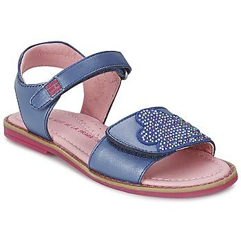 Skor Flick Sandaler Agatha Ruiz de la Prada MISS PONZA Blå