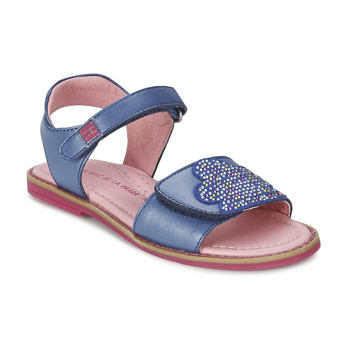 sandaler Agatha Ruiz de la Prada MISS PONZA Blå