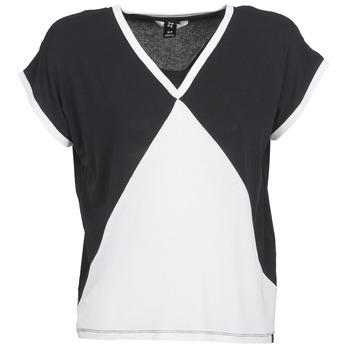 textil Dam T-shirts Nikita NEWSON Svart / Vit