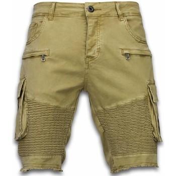textil Herr Shorts / Bermudas Enos Shorts Chinos Shorts För JB Beige
