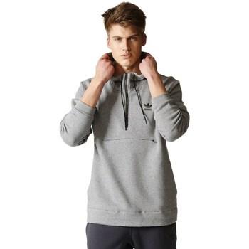 textil Herr Sweatshirts adidas Originals Originals Shadow Tones Half Zip Gråa