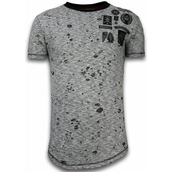 textil Herr T-shirts Local Fanatic För LFG Grå