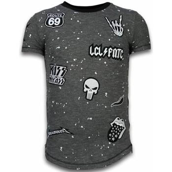textil Herr T-shirts Local Fanatic Patches Rockstar LFZ Svart