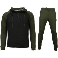 textil Herr Joggingbyxor Sixth June Grymma Träningskläder Träningskläder Svart, Grön
