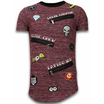 textil Herr T-shirts Local Fanatic Patches Elite Crew LFB Bordeaux