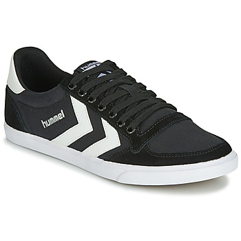 Skor Sneakers Hummel TEN STAR LOW CANVAS Svart / Vit