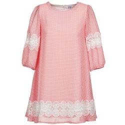 textil Dam Korta klänningar Brigitte Bardot AGATHE Röd