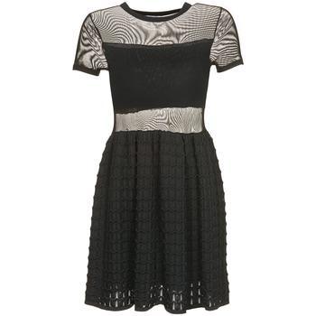 textil Dam Korta klänningar Brigitte Bardot ALBERTINE Svart