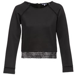 textil Dam Sweatshirts Brigitte Bardot AMELIE Svart