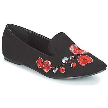 Skor Dam Loafers Moony Mood JASMINY Svart