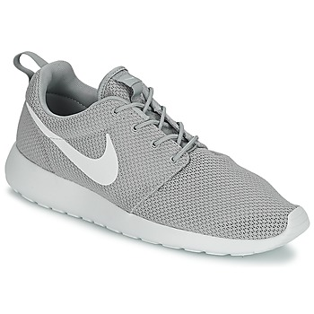 Skor Herr Sneakers Nike ROSHE ONE Grå / Vit